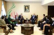 المقداد و غراندي يبحاثان العلاقات الثنائية المشتركة بين الحكومة السورية و مفوضية الأمم المتحدة السامية لشؤون اللاجئين