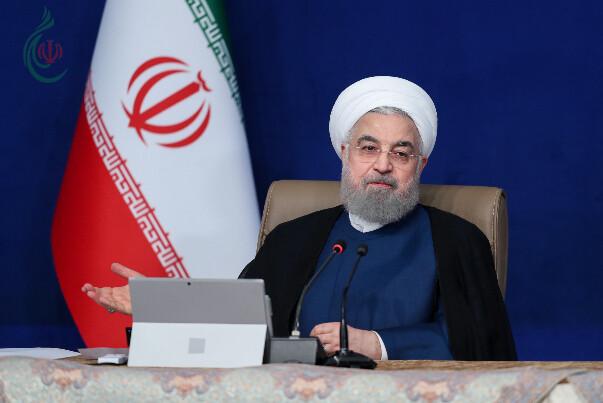 الرئيس روحاني يتوعّد بردّ صارم في حال تنفيذ العقوبات الأميركية عملياً