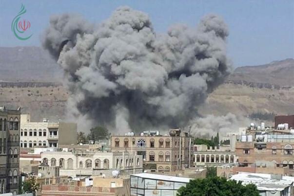 غارات العدوان السعودي تستمر على الأراضي اليمنية