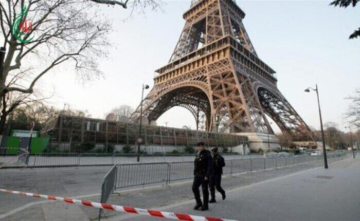 السلطات الفرنسية تخلي برج ايفل بعد تهديد بوجود قنبلة بداخله