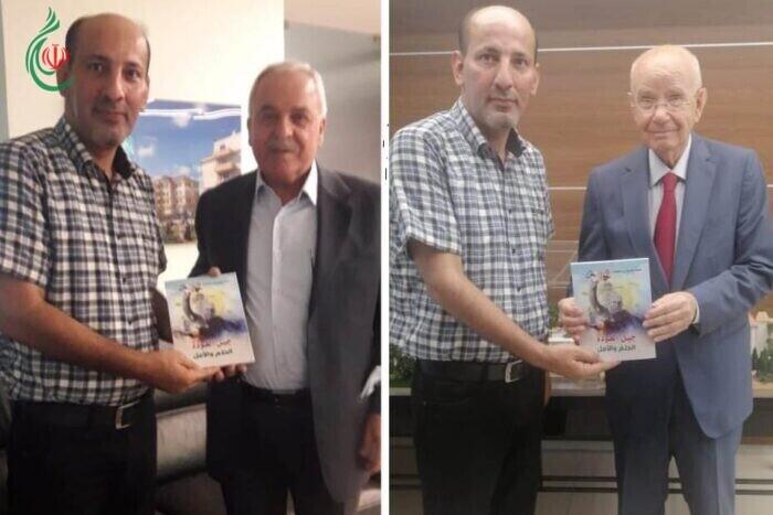 رئيس اتحاد الشباب الديمقراطي الفلسطيني ( أشد) يلتقي النائبين عبدالرحيم مراد والوليد سكرية