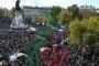 حشود في شوارع فرنسا تكريماً للمدرس