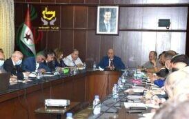 وزير الصناعة السوري زياد صباغ : يبحث واقع المؤسسة العامة للتبغ ويوجه بإنشاء خطوط تصنيعية جديدة والعمل على إنتاج أصناف بمواصفات عالمية
