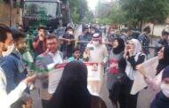وقفة احتجاجيّة أمام السفارة الفرنسيّة ببيروت تنديداً بالإساءة الفرنسية للرسول الأعظم محمد (ص)