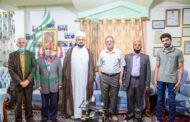 أمين عام مكتبة أمير المؤمنين عليه السلام في ضيافة مركز كربلاء للدراسات والبحوث