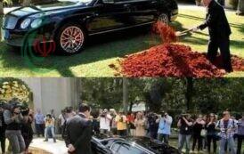 رجل أعمال يدفن سيارته داخل قبره ليقودها بعد البعث