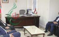 السفير الإيراني لدى لبنان محمد جلال فيروزنيا يبحث مع وزير الخارجية شربل وهبه علاقات البلدين والتعاون العسكري