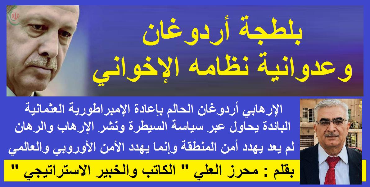 بلطجة أردوغان وعدوانية نظامه الإخواني .. بقلم : محرز العلي