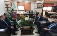 وزير النفط والثروة المعدنية السوري يلتقي نوراني وحاجيان