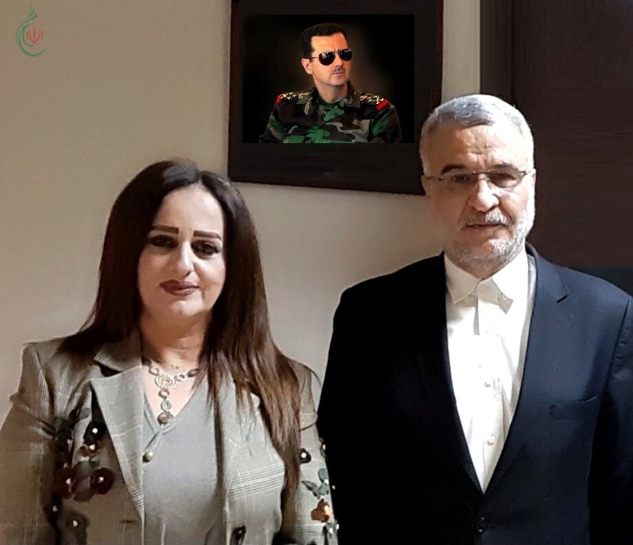 حاجيان وشعبان يبحثان سبل تطوير المبادرات الإنسانية والفعاليات التنموية والاجتماعية والثقافية والبرامج الإعلامية وأفاق العلاقات الشعبية بين سورية وإيران