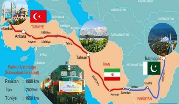 إطلاق قطار شحن بين أفغانستان وإيران وتركيا في 2021