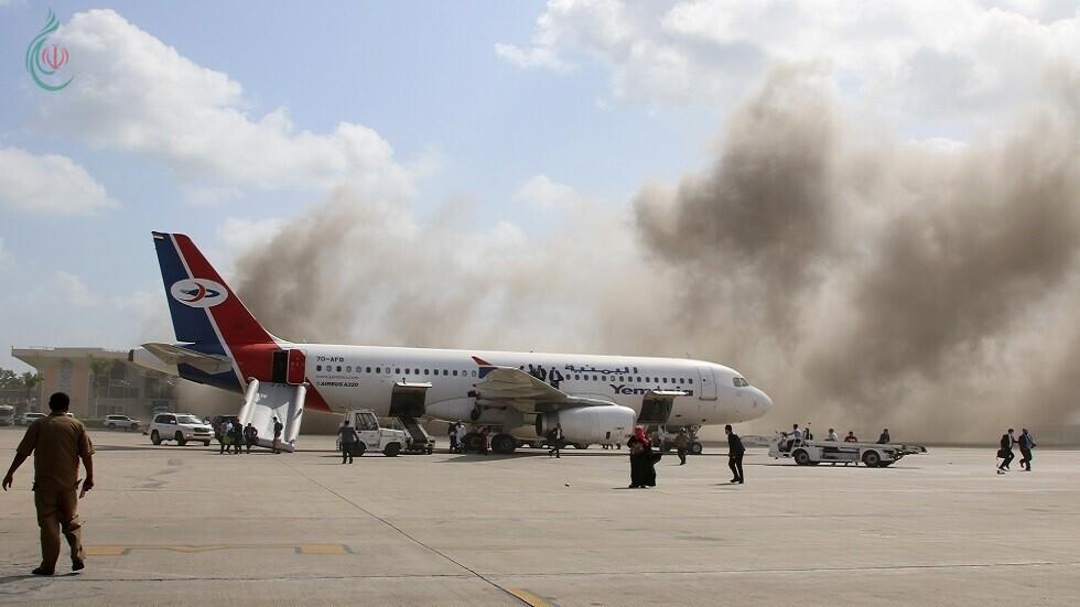 ارتفاع حصيلة ضحايا هجوم مطار عدن إلى 130 بين شهيد وجريح