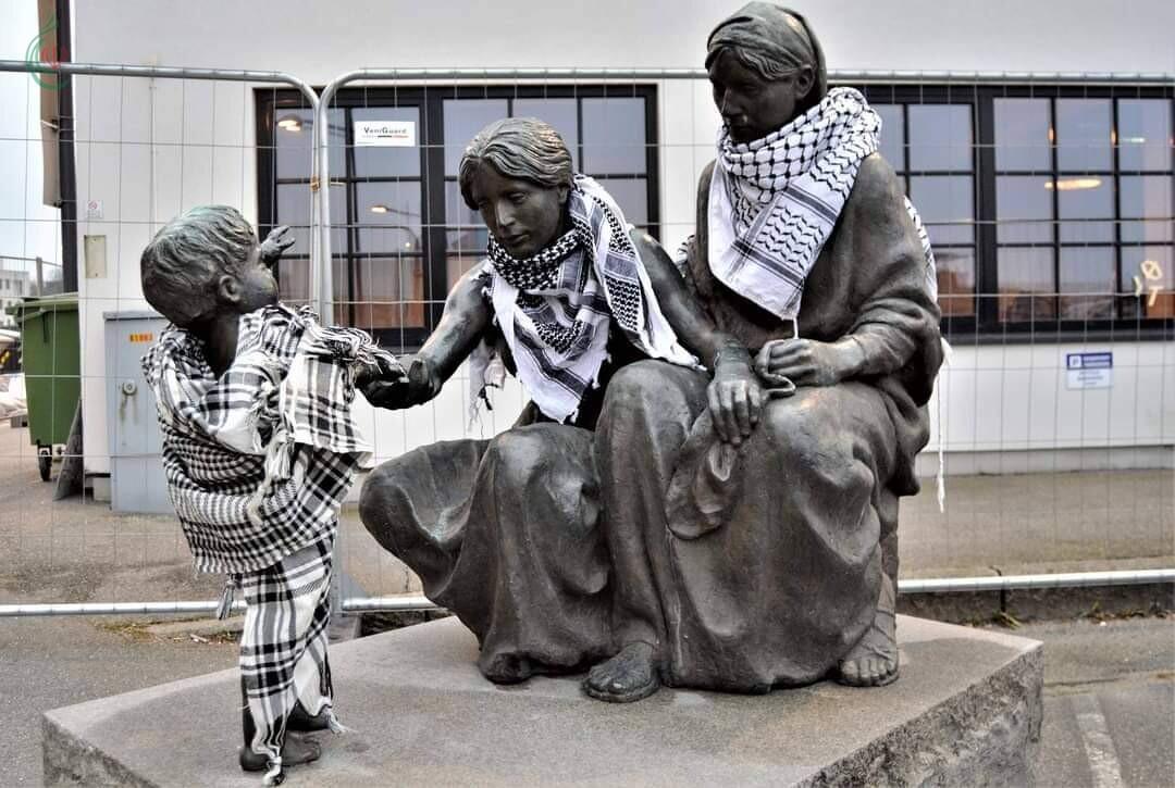 فعالية الكوفية الفلسطينية بمناسبة اليوم العالمي للتضامن مع الشعب الفلسطيني في النرويج