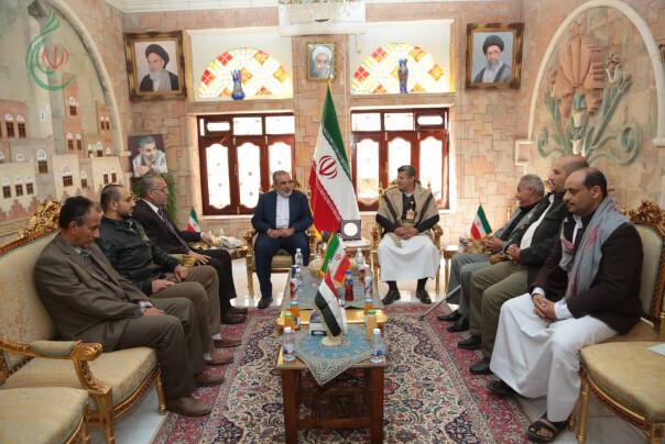 السفير الإيراني بصنعاء يلتقي ممثلي الفصائل الفلسطينية في اليمن