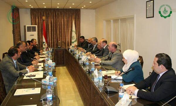إتحادا غرف التجارة السوري والعراقي يبحثان تنشيط التعاون التجاري وتطوير العلاقات الاقتصادية بين البلدين
