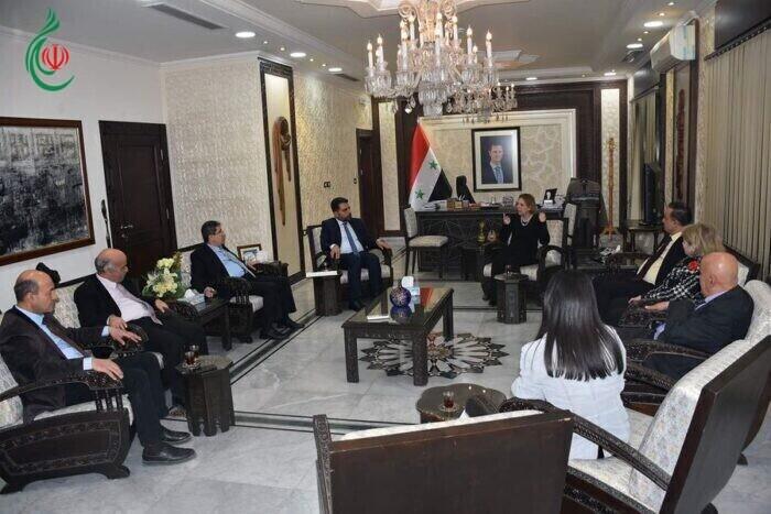 وزيرة الثقافة الدكتورة لبانة مشوّح تلتقي أعضاء المكتب التنفيذي لاتحاد الكتاب العرب برئاسة الدكتور محمد الحوراني
