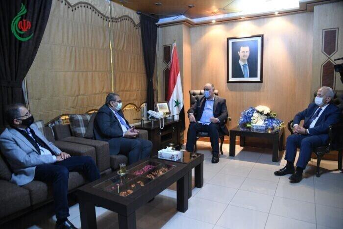 مباحثات سورية أردنية لتنشيط التبادل التجاري ومواجهة التحديات الاقتصادية التي تشهدها المنطقة