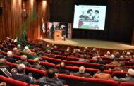 مهرجان خطابي في الذكرى 42 لانتصار الثورة الإسلامية الإيرانية بدمشق أقامته جمعية الصداقة الفلسطينية الإيرانية