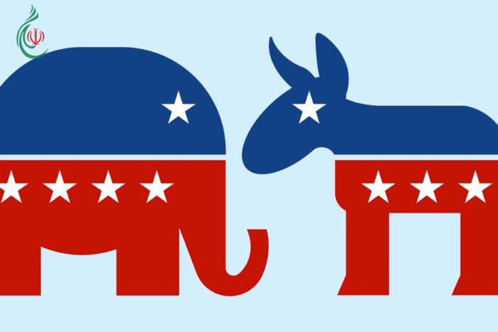 قصة الحمار الديموقراطي والفيل الجمهوري في الولايات المتحدة الأمريكية