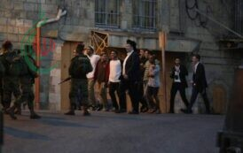 مستوطنون صهاينة يعتدون على الكنيسة الرومانية في القدس