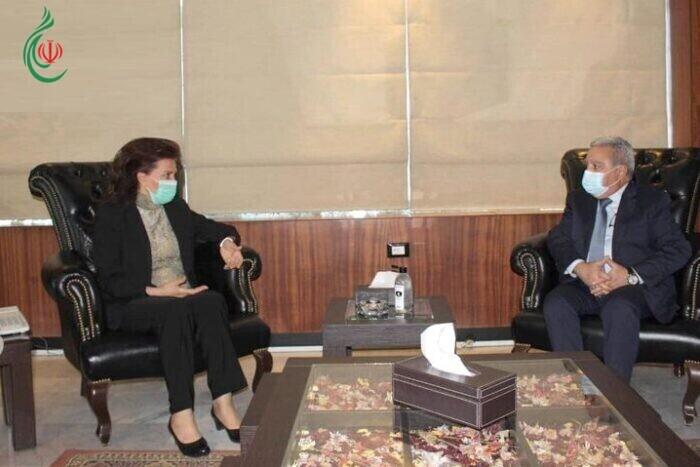 الدكتورة سلوى عبدالله بحثت مع وزير الشؤون الاجتماعية والسياحة اللبناني ملف عودة النازحين السوريين والعمل على استكمال الخطوات المشتركة بين البلدين الشقيقين