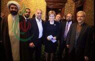 رئيسة وزراء اسكتلندا تتعرض لانتقادات بعد نشر صورة لها مع رجل الدين الإيراني