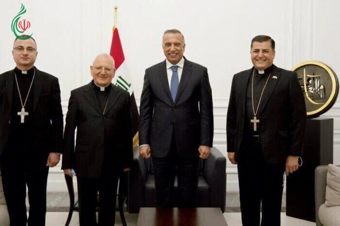 رئيس مجلس الوزراء العراقي مصطفى الكاظمي : سماحة السيد السيستاني وبابا الفاتيكان رسما لنا طريق الأمل وتعزيز قيم التلاحم