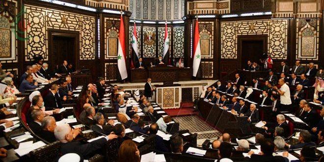 رئيس مجلس الشعب يعلن تبلّغ المجلس بتقديم ثلاثة طلبات ترشح إلى منصب رئيس الجمهورية