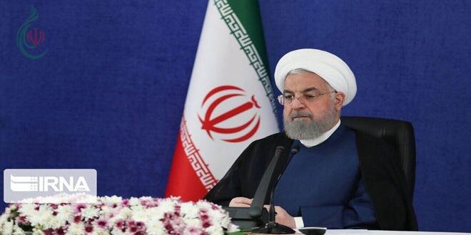 الرئيس روحاني الوفد الإيراني حقق تقدماً ملحوظاً في مفاوضات فيينا بشأن الملف النووي