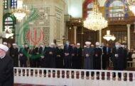الرئيس السوري بشار الأسد يؤدي صلاة عيد الفطر السعيد في رحاب الجامع الأموي الكبير بدمشق
