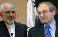 المقداد وظريف يبحثان هاتفياً العلاقات بين سورية وإيران وسبل تطويرها وتعزيزها