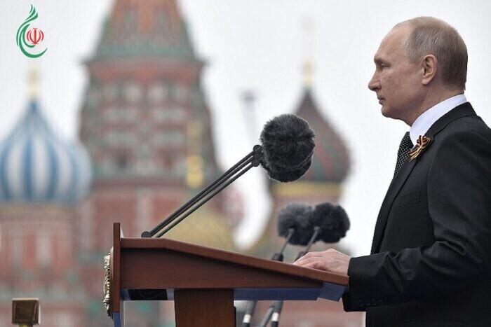بوتين : عيد النصر كان وسيظل عيدا مقدساً لروسياً ولا مبرر لمن يضع مخططات عدوانية جديدة