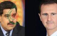 الرئيس مادورو يهنئ الرئيس الأسد بفوزه في الانتخابات الرئاسية