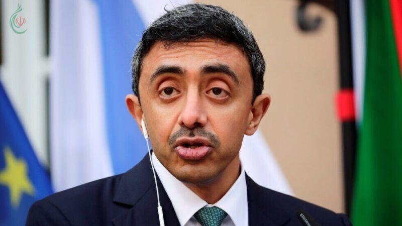 وزير الخارجية الإماراتي يبحث مع نظيره الأمريكي