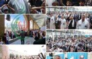 وقفة تضامنیة بمصلی مقام السیدة زینب علیها السلام إحياءً ليوم القدس العالمي بعنوان