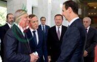 الرئيس الأسد يستقبل نائب رئيس الوزراء الروسي .. توسيع التعاون الاقتصادي في مجالات الصناعة والطاقة والتقنيات الحديثة