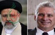 الرئيس الكوبي يهنئ حجة الإسلام والمسلمين إبراهيم رئيسي بفوزه بالانتخابات الرئاسية الإيرانية
