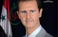 جمعية الصداقة الفلسطينية الإيرانية تهنئ الرئيس الدكتور بشار الأسد بتجديد العهد لسيادته