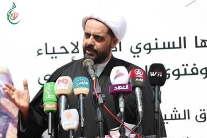 الأمين العام لحركة عصائب أهل الحق في العراق قيس الخزعلي .. المقاومة لن تتوقف إلا بخروج القوات الأميركية