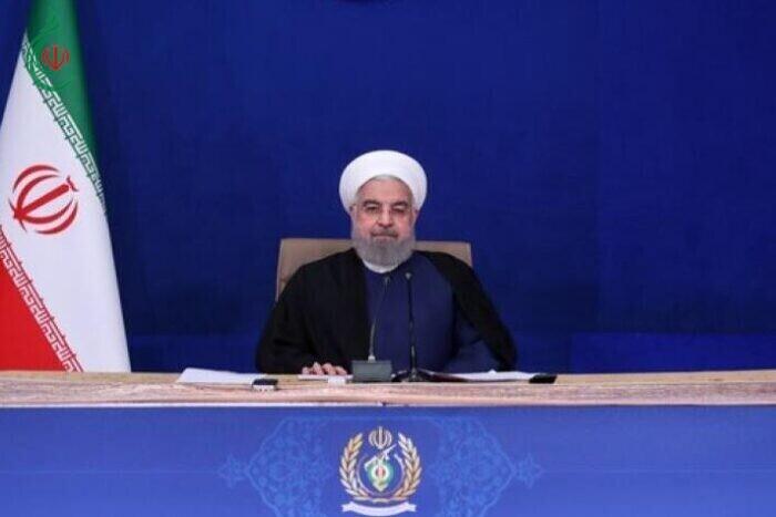 روحاني : بايدن يسير على خطى ادارة ترامب الارهابية