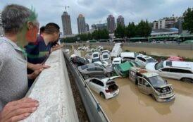 «رعب وخسائر» إقليم صيني يشهد الأمطار «الأشد منذ ألف عام»