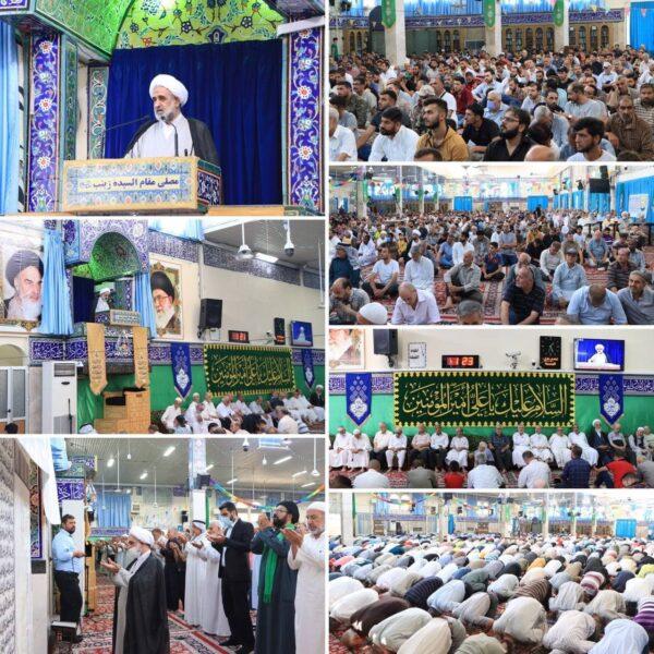 ممثل الإمام الخامنئي (دام ظله) في سورية الشيخ حميد الصفار الهرندي في خطبةُ الجمعة