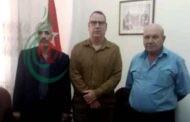 سفير جمهورية كوبا لدى سورية يلتقي وفداً من الجبهة الديمقراطية لتحرير فلسطين