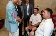 السيدة أسماء الأسد تلتقي بالجرحى الرياضيين المشاركين في منافسات دورة ألعاب
