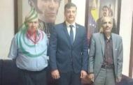 فداً فلسطيناً ديمقراطياً يلتقي السيد خوسيه غريغوريو بيومورجي موساتيس سفير فنزويلا بدمشق