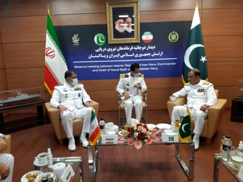 قائد البحریة الإیرانیة : إیران وباکستان الساعد القوي لتوفیر أمن المنطقة