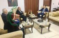 سفير فنزويلا بدمشق يلتقي المناضل خالد عبد المجيد الأمين العام لجبهة النضال الشعبي الفلسطيني