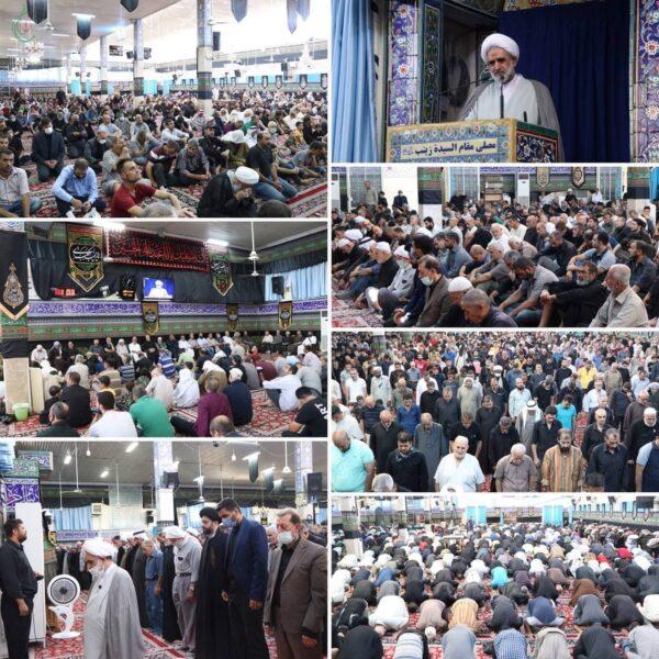 أهداف الثورة الحسينية المباركة في خطبة الجمعة لممثل الإمام الخامنئي في سورية حجة الإسلام والمسلمين الشيخ حميد الصفار الهرندي