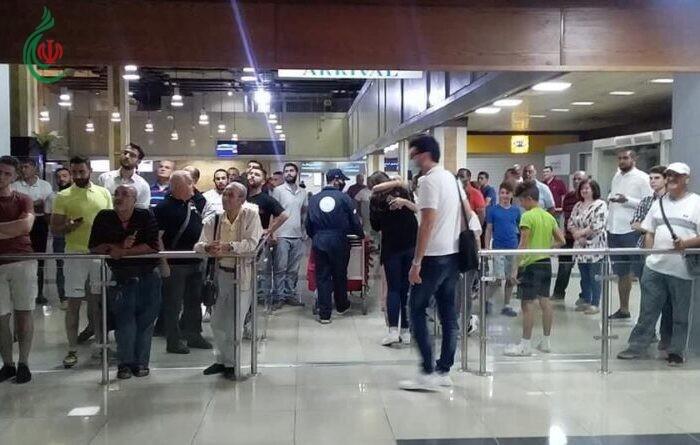 عاد إلى ألقه يستقبل أهل الوطن .. هبوط أول رحلة طيران سورية خارجية من العاصمة الأرمينية
