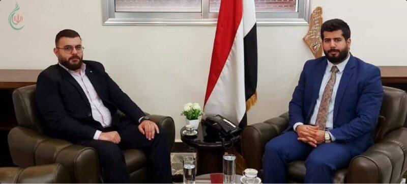 وليد الهرش و رضوان الحيمي يؤكدان على دعم الحركة الأسيرة في فلسطين المحتلة لمواجهة القوى الإمبريالية والصهيونية والرجعية العربية